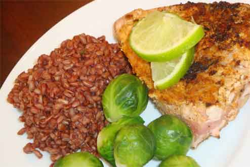 Coconut Lime Tuna Steaks