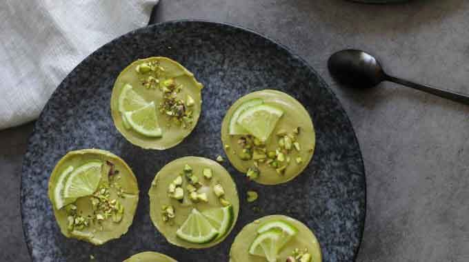 Avocado & Moringa Cheesecakes