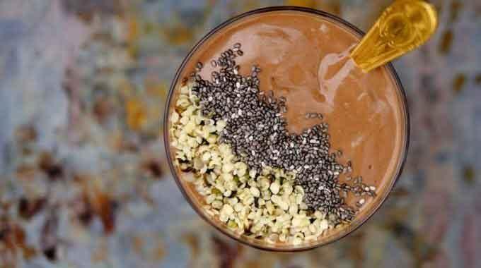 Cacao, Baobab & Avocado Smoothie