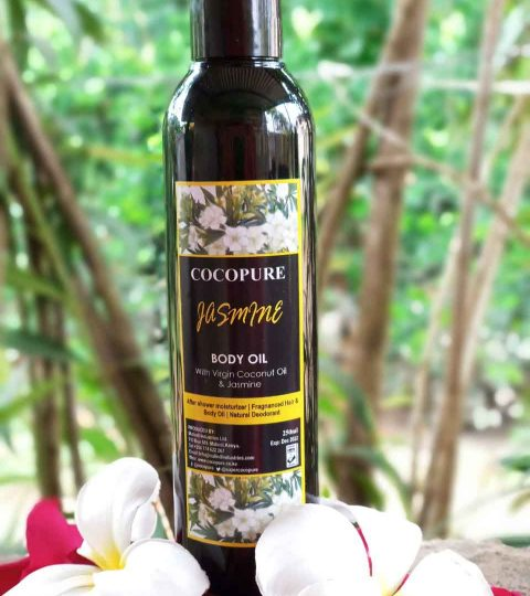 COCOPURE Jasmine Body Oil 250ml
