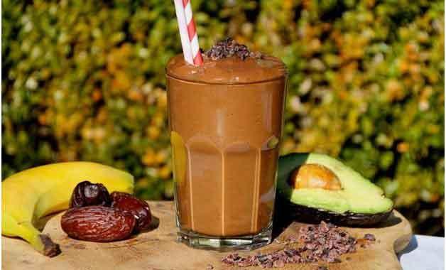 Moringa Banana Chocolate Smoothie