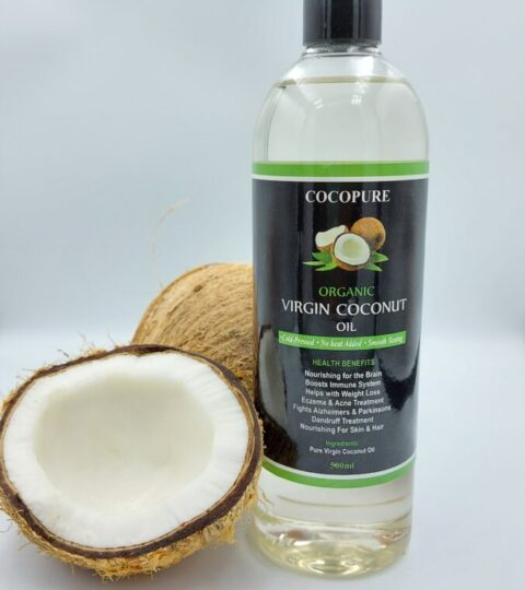 COCOPURE Virgin  Coconut Oil- 500ml